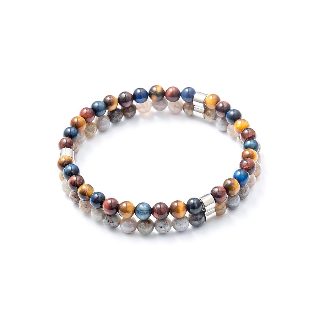 Braccialetto uomo beads